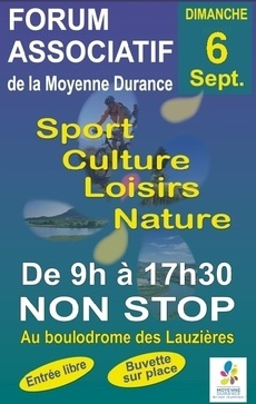 Forum des associations 6 septembre